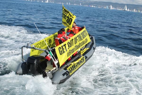 Greenpeace alla Barcolana