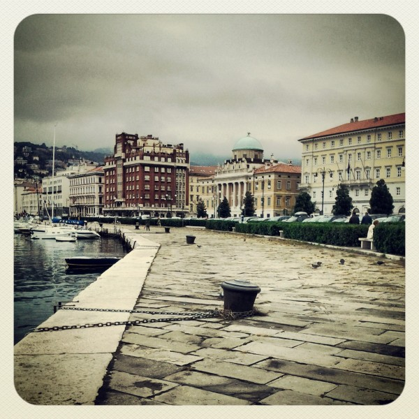 Trieste in una giornata ugigosa